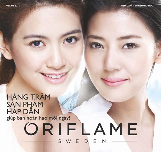 Catalogue Mỹ Phẩm Oriflame 8-2015